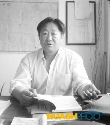 新民首举抗日旗(组图)