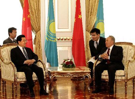中哈关于建立和发展战略伙伴关系的联合声明