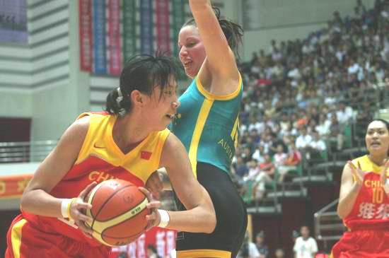 中国女篮不敌奥运亚军马大帅倒在自家人枪下(图)