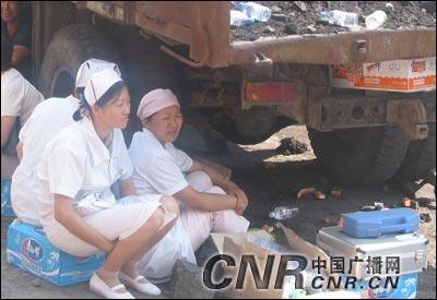新疆阜康矿难死亡人数上升至65人18人下落不明(组图)