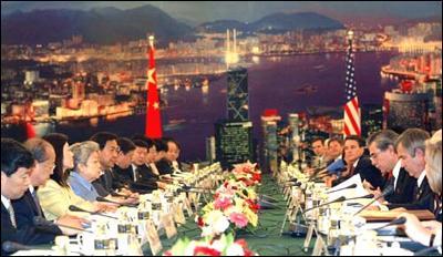 中美商贸联委会达多项共识美称慎对纺织品设限(组图)