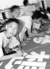 小记者助阵奥林匹克文化节(图)
