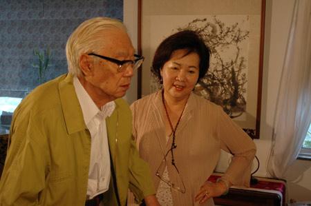 台湾日记之一:一日之内采访三位名人(组图)