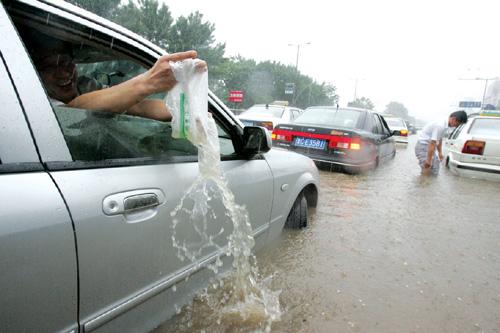 疾雨突袭齐鲁17座水库水位超汛限
