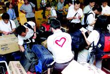 首批赴非服务的中国青年志愿者今出发(图)