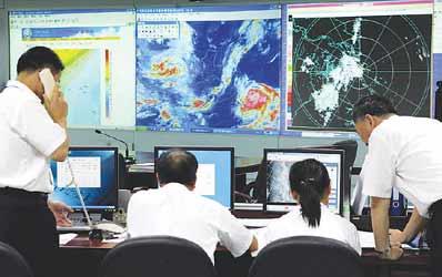 今年第9号台风麦莎逼近上海气象部门提醒预防