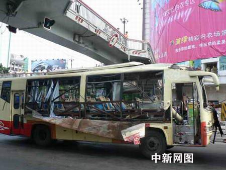 福州公交车爆炸案13名伤者病情稳定出院