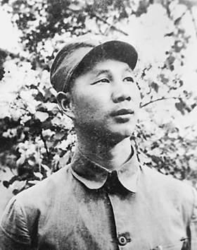 永远的丰碑・抗日英雄谱――杨成武(图)
