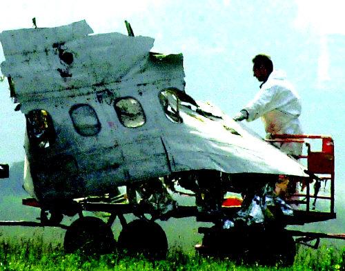 哥伦比亚客机坠毁160人罹难(组图)