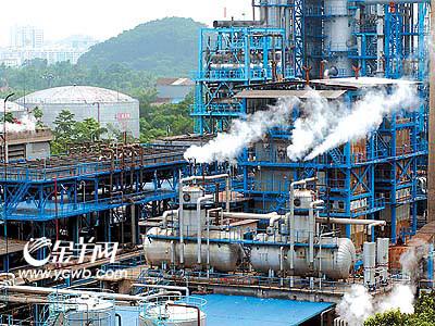 广石化提炼汽油每吨差不多亏损1300元