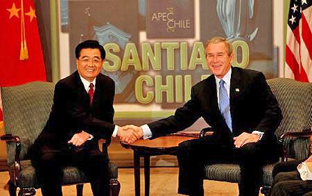 胡锦涛将出访美加墨三国并出席联合国首脑会议
