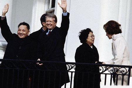 中国三代领导人与美国