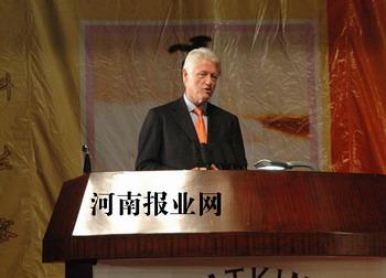 克林顿在郑州演讲:中国经济发展会更好(全文)