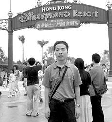 香港迪斯尼:演出开始啦(组图)