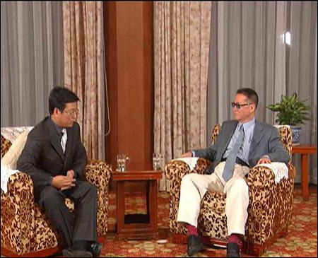 李敖接受专访自称像蔡元培不是政治人物