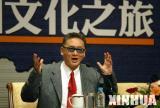 李敖上海召开新闻发布会 表示一路走来没有压力