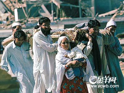中国620万美元紧急援助巴基斯坦(图)