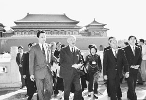 追忆1993年在新加坡的第一次汪辜会谈(图)