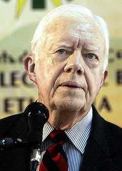美国前总统卡特批评政府操纵伊战情报误导公众