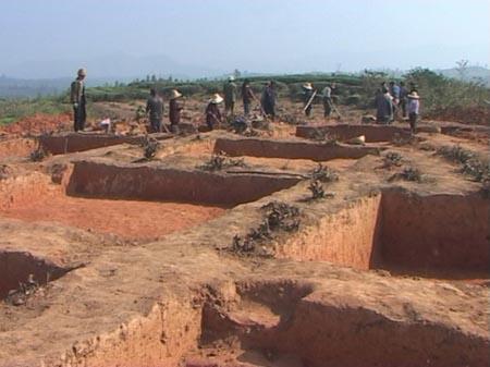 3000年前古窑完美现身(图)