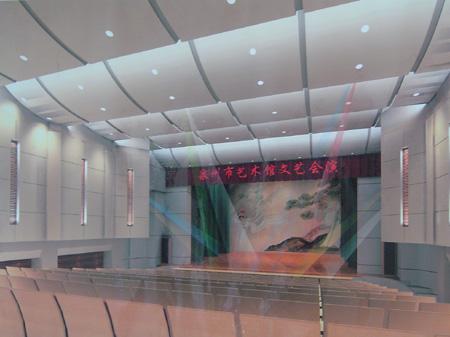 泉州市艺术馆剧场预计年底投入使用(图)