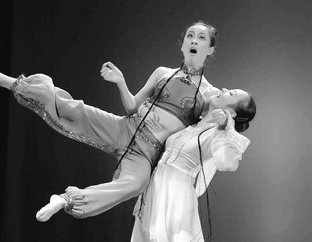 单人现代舞蹈教学视频