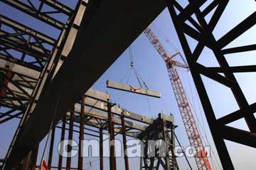 """钢结构厂房彩板钢构行业资讯,行业新闻(图); 公共建筑""""第一跨""""琴台大"""