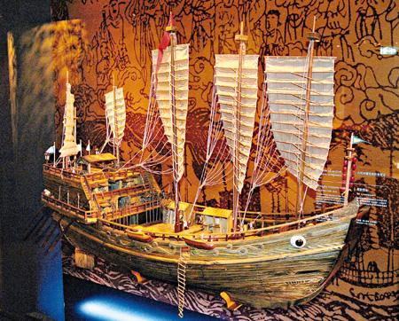 港商拟仿建郑和宝船停泊香港供游客观赏