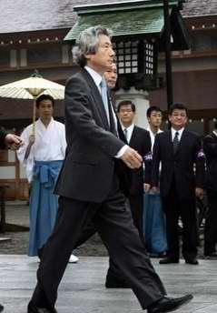 分析:中日关系遭遇挫折参拜靖国神社是主因