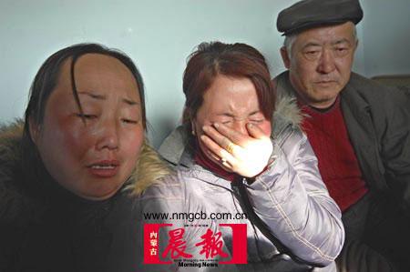 内蒙古客车坠入黄河27人无生还可能(组图)