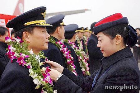 吕秀莲专机机师因丈夫跳槽大陆被调离一线