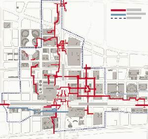 北京CBD将建5400米地下连廊(图)