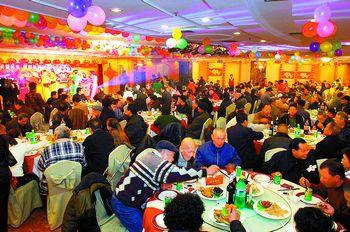 温州举行慈善年夜饭千人大宴