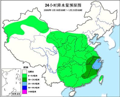 大城市48小时天气预报-天气 北方大风降温 黄淮有大雪长江中下游大雨
