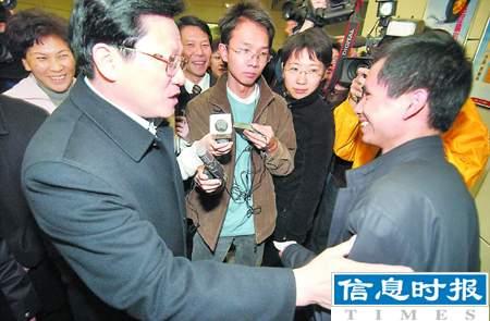 广州市长张广宁检查广州火车站(图)