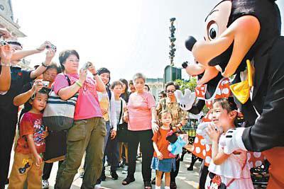 香港迪斯尼乐园将调整票务系统(图)