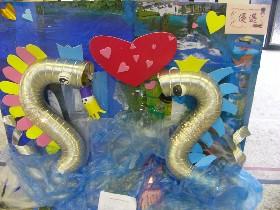 基隆小学生创意环保让废品变身天鹅(图)图片