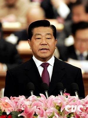 全国政协十届四次会议开幕贾庆林做报告(实录)
