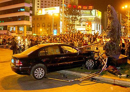昆明闹市26人伤亡特大车祸肇事司机被捕