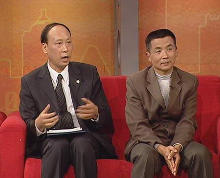 全国政协副主席张怀西:做社会主义新农村建设者