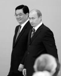 胡锦涛建议中俄深化能源合作车臣希望中方投资
