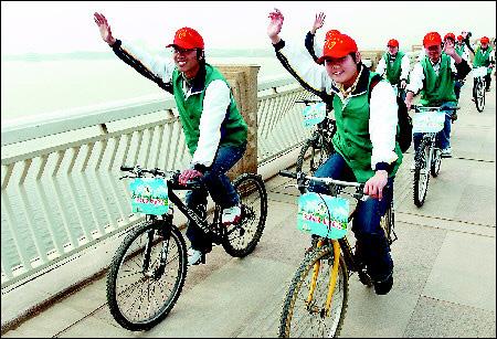 生态志愿者宣传队+千余环保志愿者参加此次活动