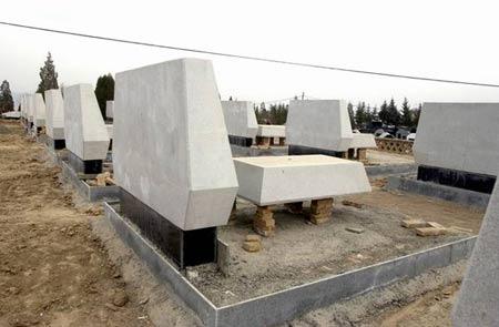 甘肃榆中村民私卖土地建墓豪华墓地价值百万