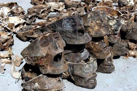 甘肃公安厅确认天祝县发现121颗头骨为人骨