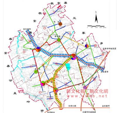 哈尔滨市万宝镇规划图