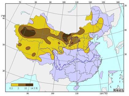 中国沙尘暴主要气候特征(2)