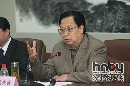 河南省委书记徐光春接见网络媒体代表(组图)