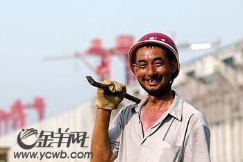 他们创造了世界奇迹:三峡大坝建设者们(组图)