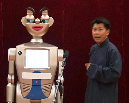 李成荣:打造有表情的机器人