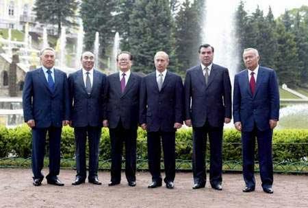 资料图片:上海合作组织历次元首会议